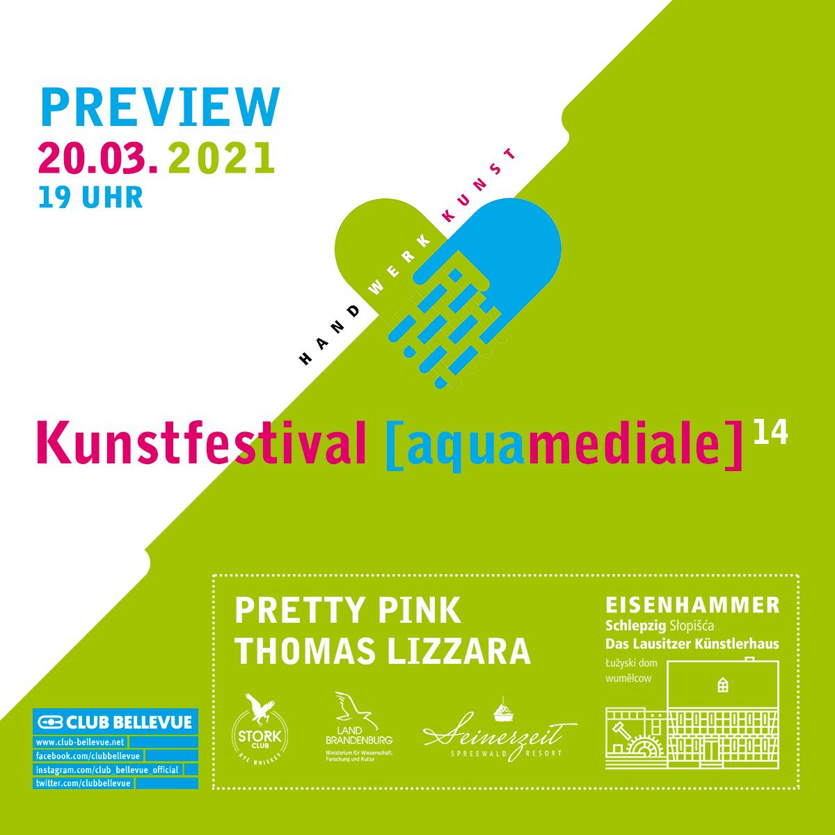 aquamediale 14 Preview – Live Stream w/ Pretty Pink & Thomas Lizzara