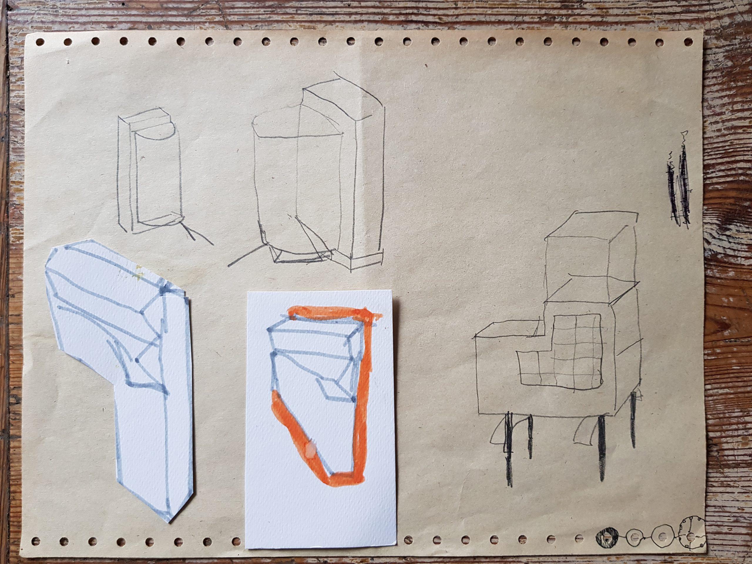 Alex Besta und Julia Eichler sind die ersten Stipendiatinnen im Lausitzer Künstlerhaus EISENHAMMER in Schlepzig Słopišća